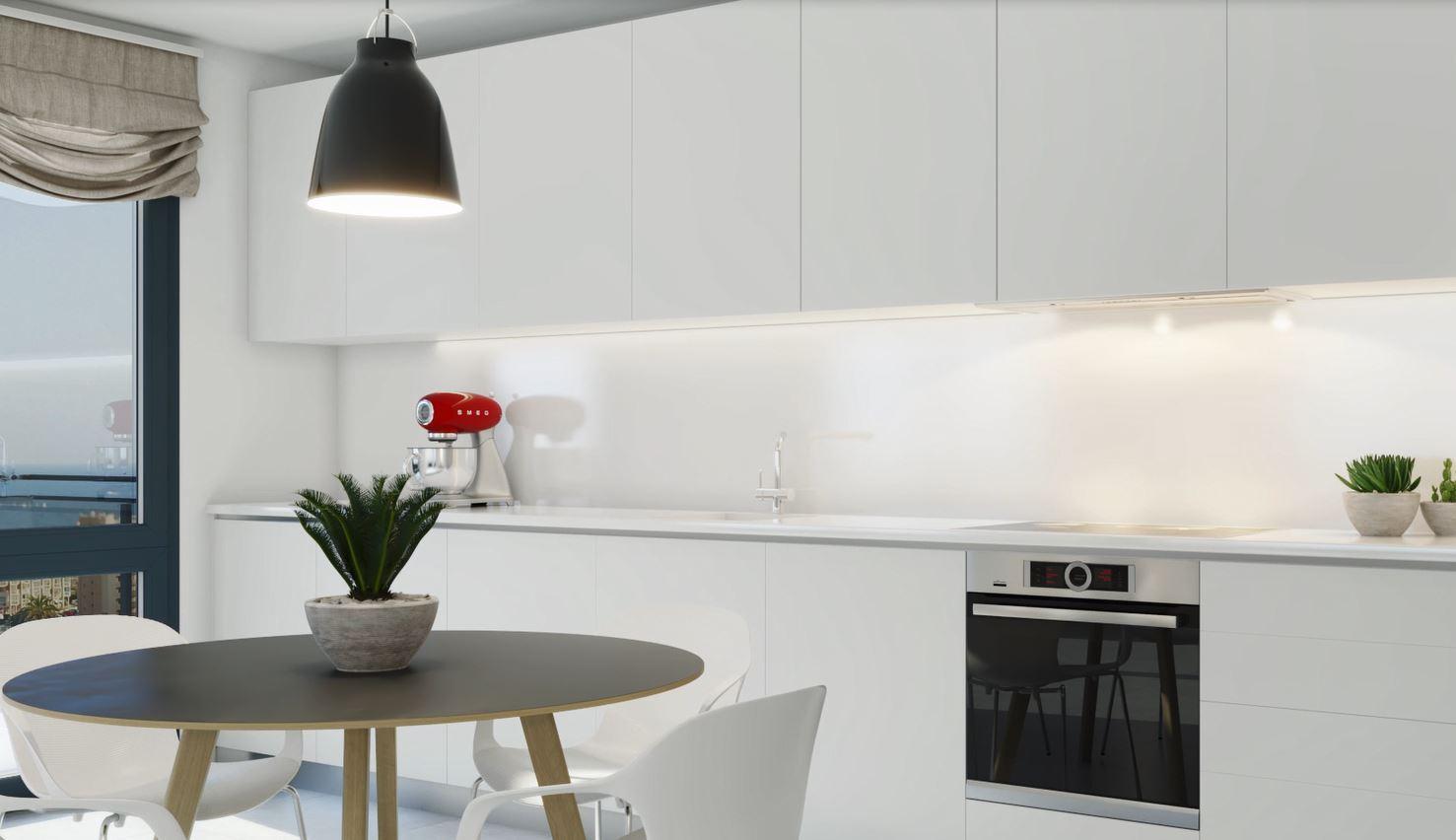 Neue Luxusförderung für innovativ gestaltete Wohnungen in Calpe