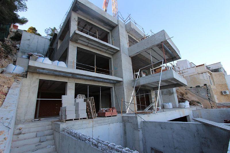 Neubau Villa Moderner Stil zum Verkauf mit Meerblick - Javea