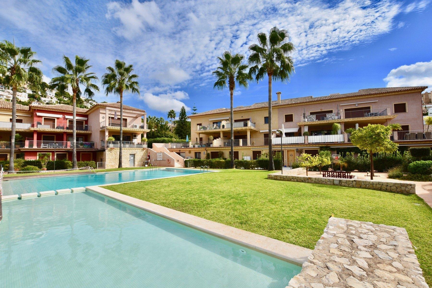 2-Zimmer-Wohnung zum Verkauf in Moraira in Urbanisation Jardines de Montemar - Costa Blanca