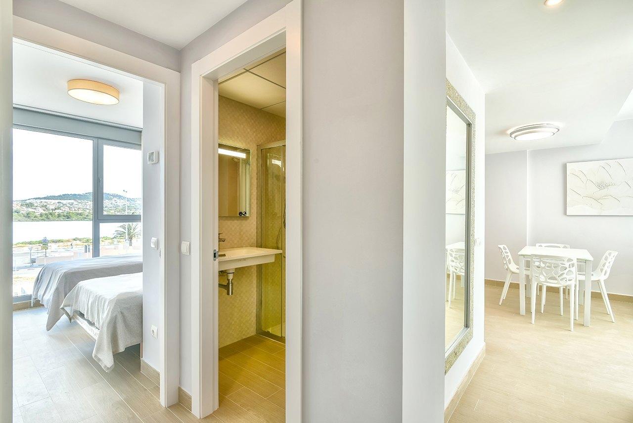 Neubauwohnung zum Verkauf in Calpe mit Meerblick - Costa Blanca