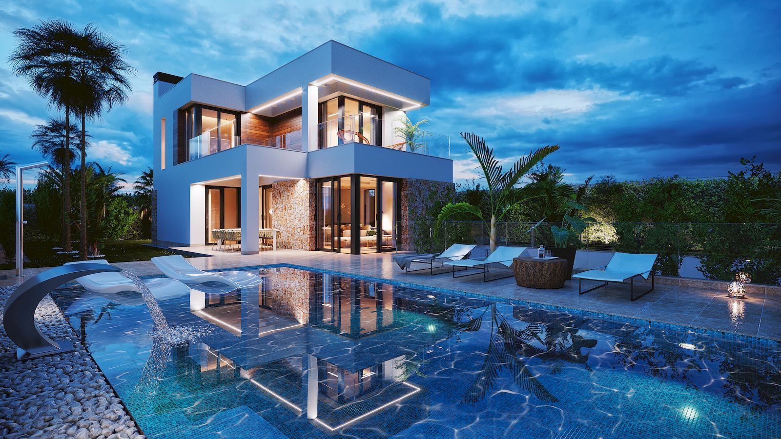 Moderne Luxus-Villa zum Verkauf in Finestrat Hills - Benidorm