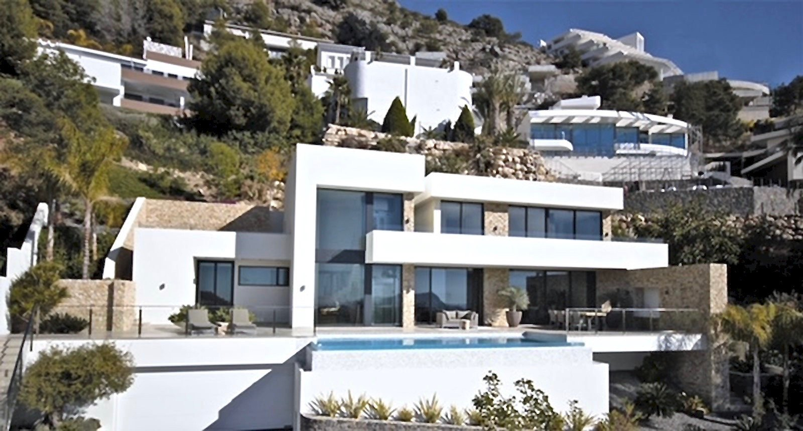 Neue moderne Oba Villa zum Verkauf in Altea - Costa Blanca