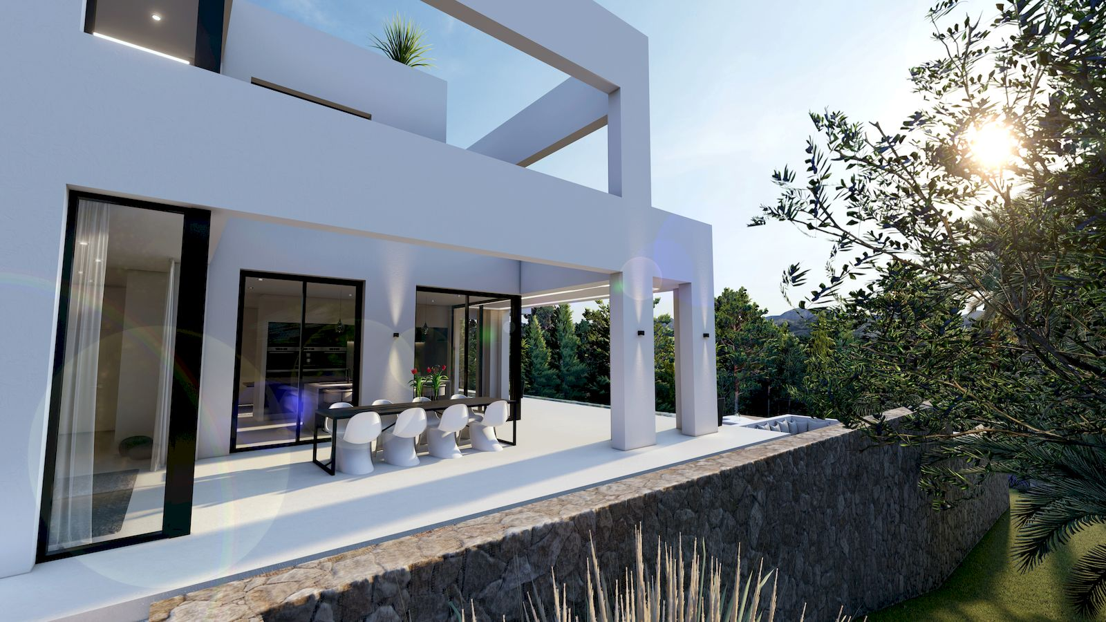 Moderne Neubauvilla zum Verkauf in Benissa - Costa Blanca